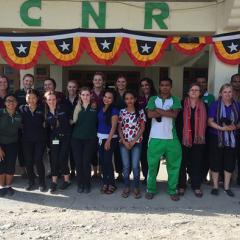 students in Timor-Leste